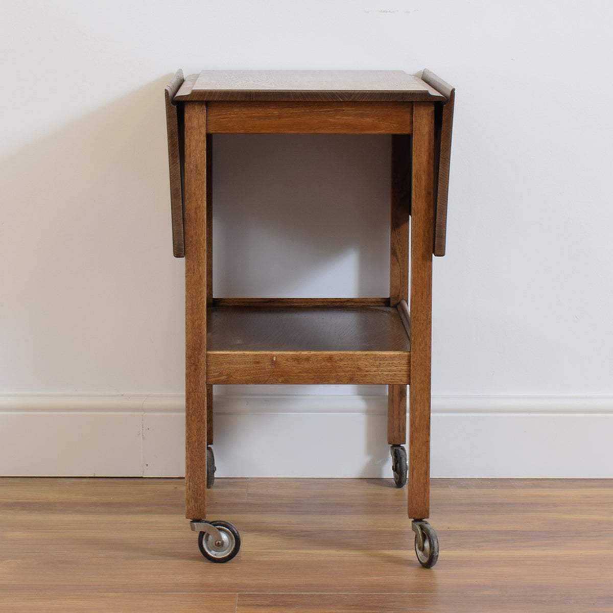 Oak Restored Tea Trolley