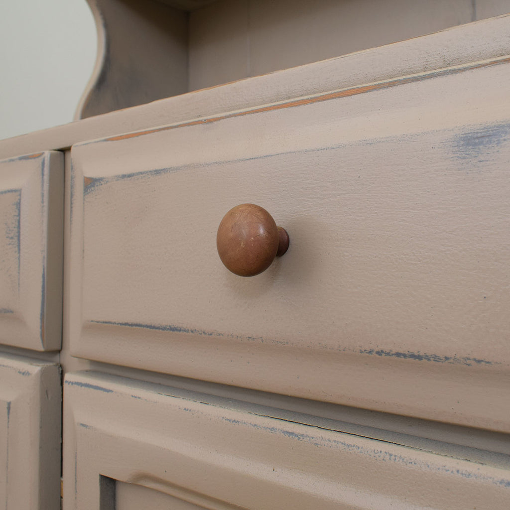 Rustic Chic Painted Dresser