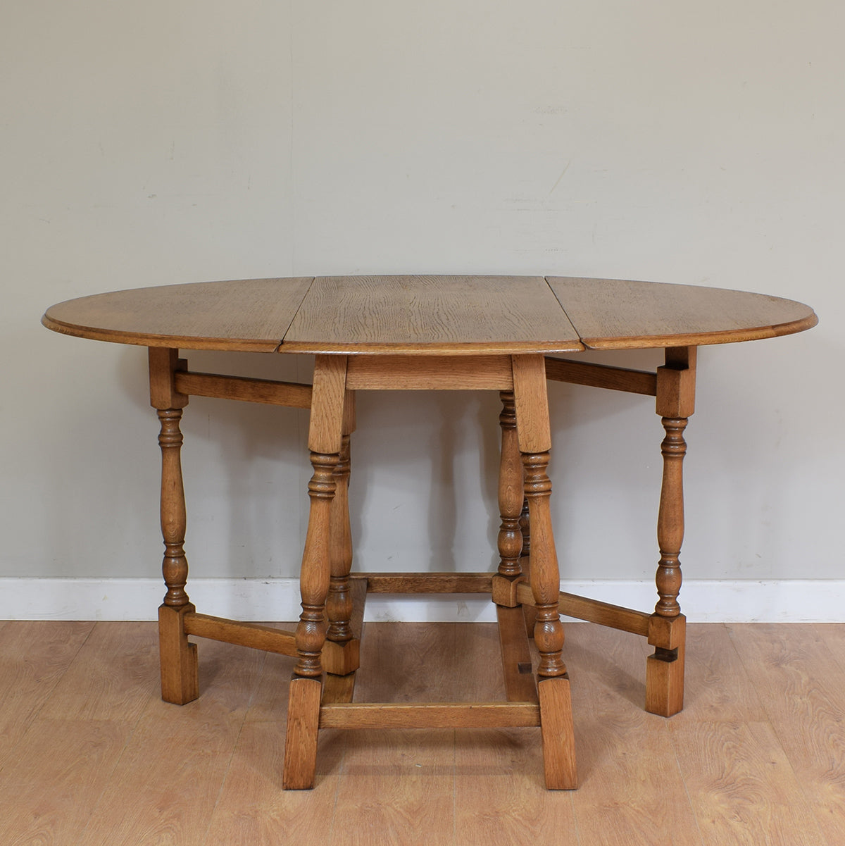 Vintage Oak Drop Leaf Table