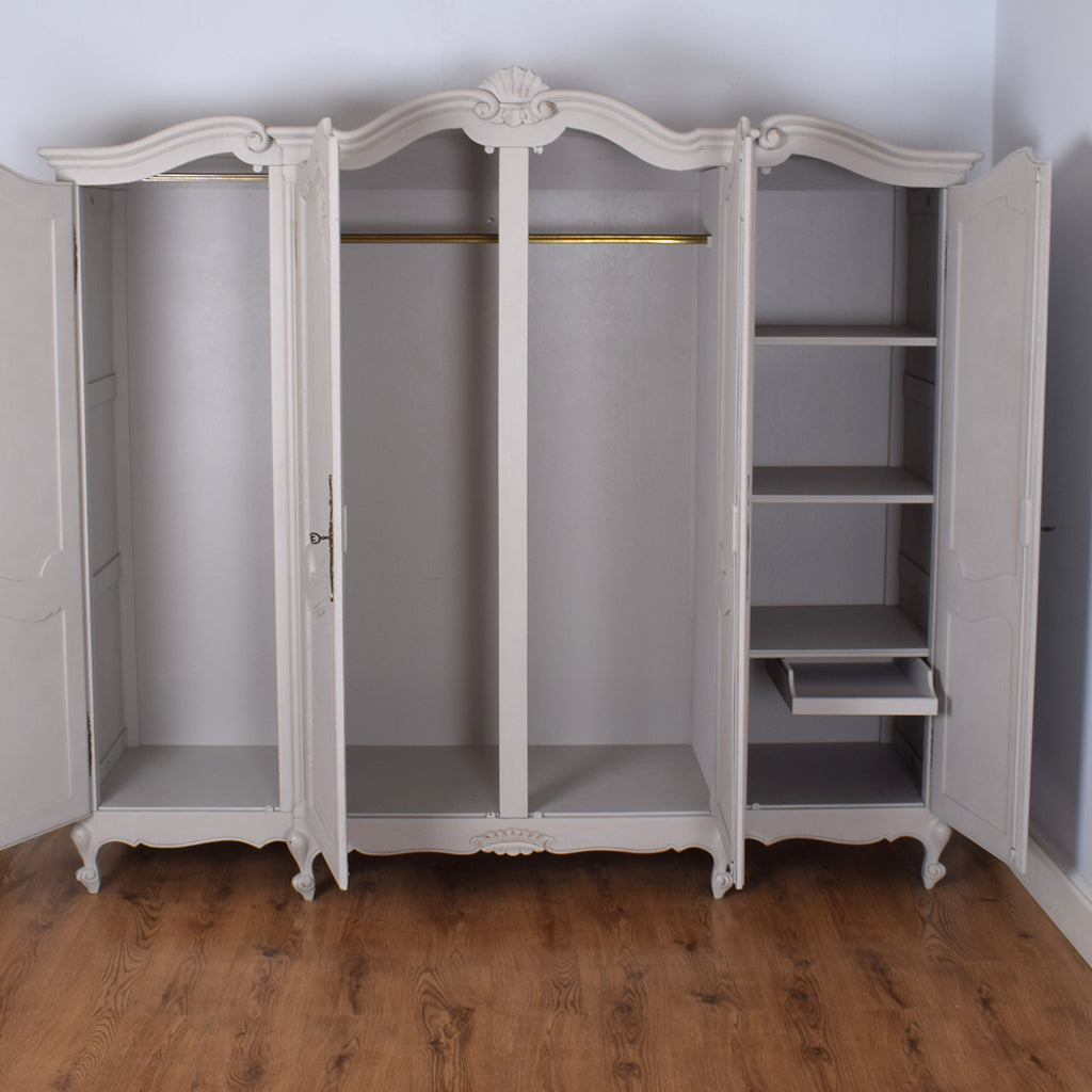 Four Door French Wardrobe