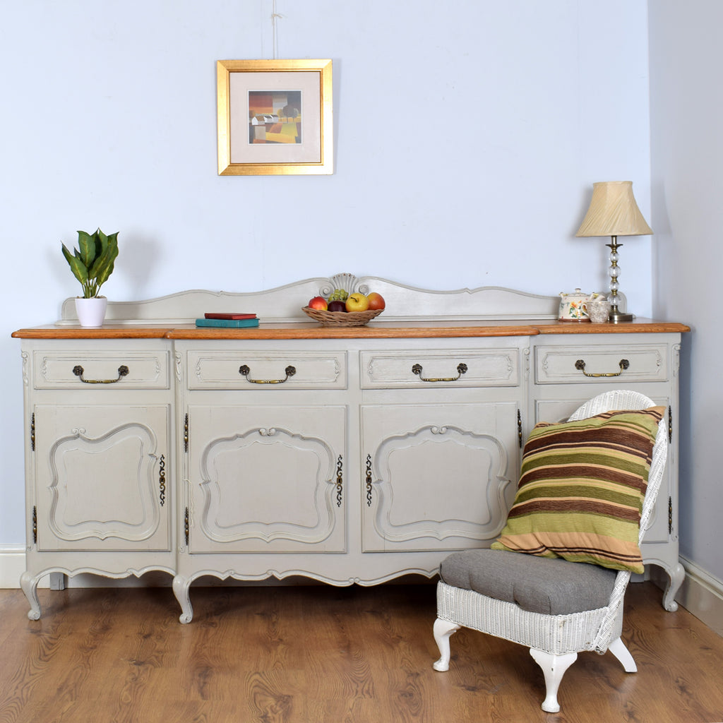Large Painted French Sideboard
