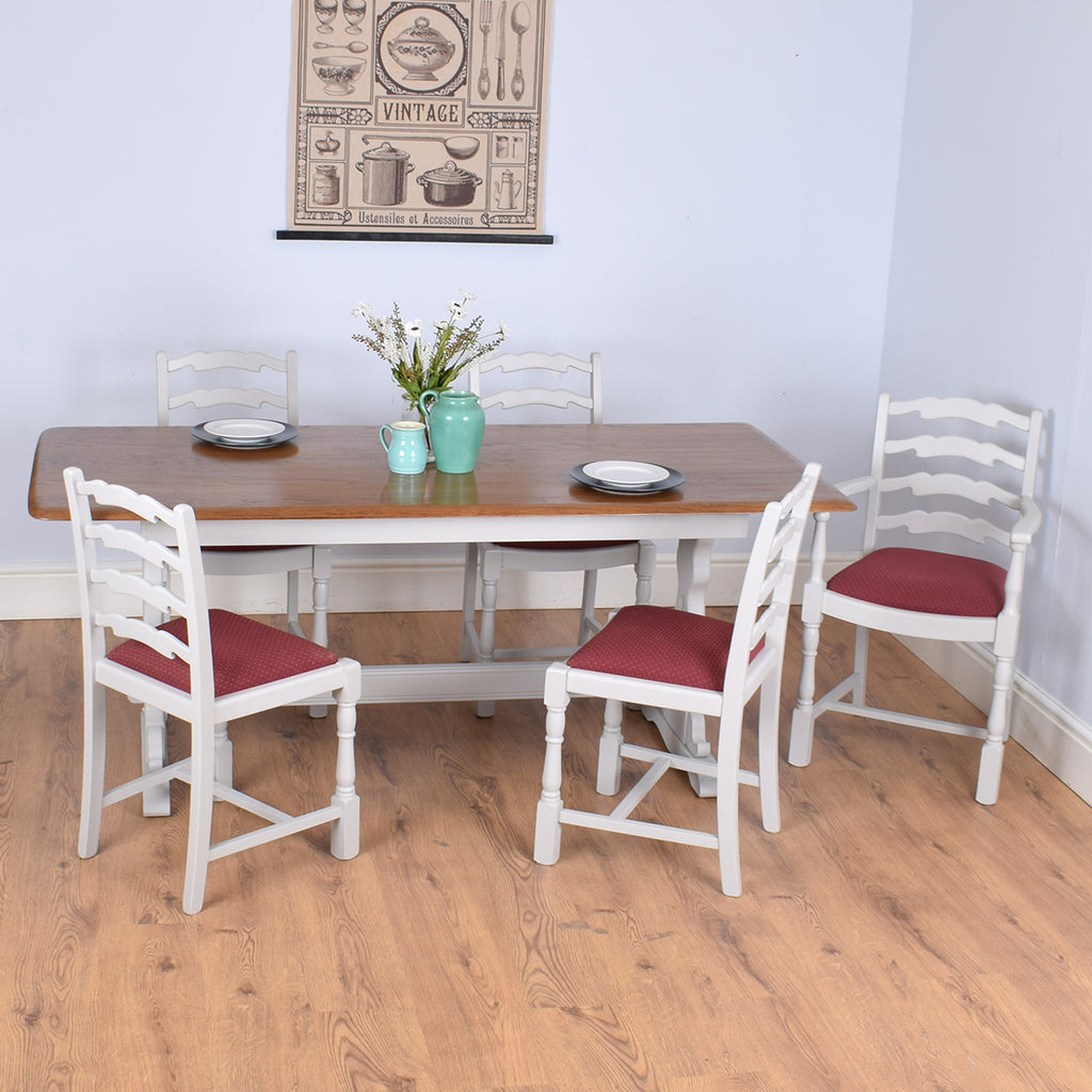 Classic Priory Table & 5 Chairs