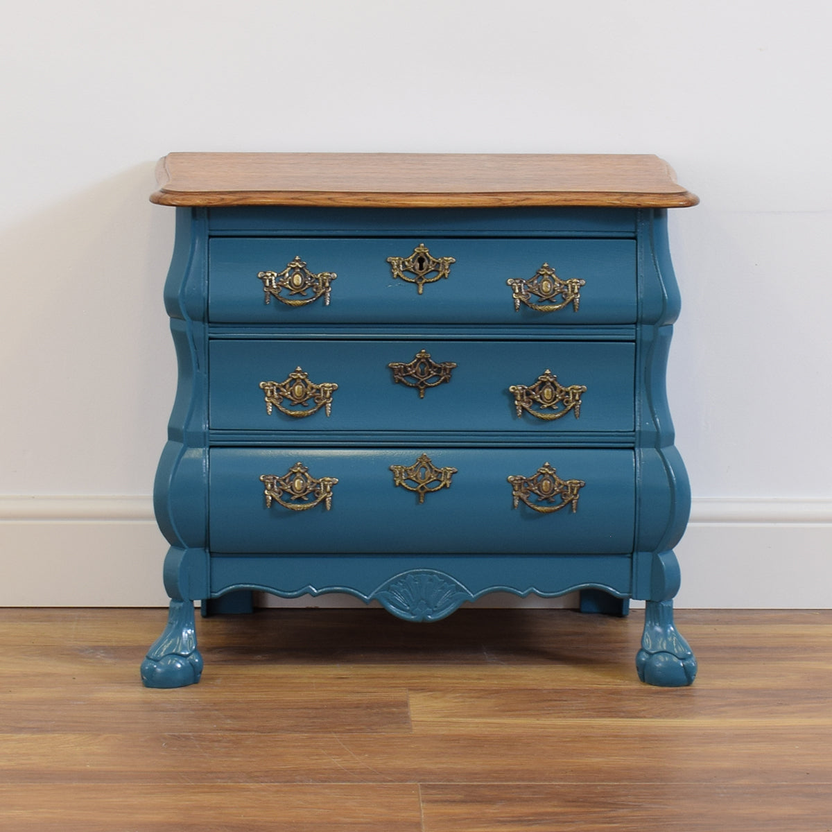 Painted French Oak Chest