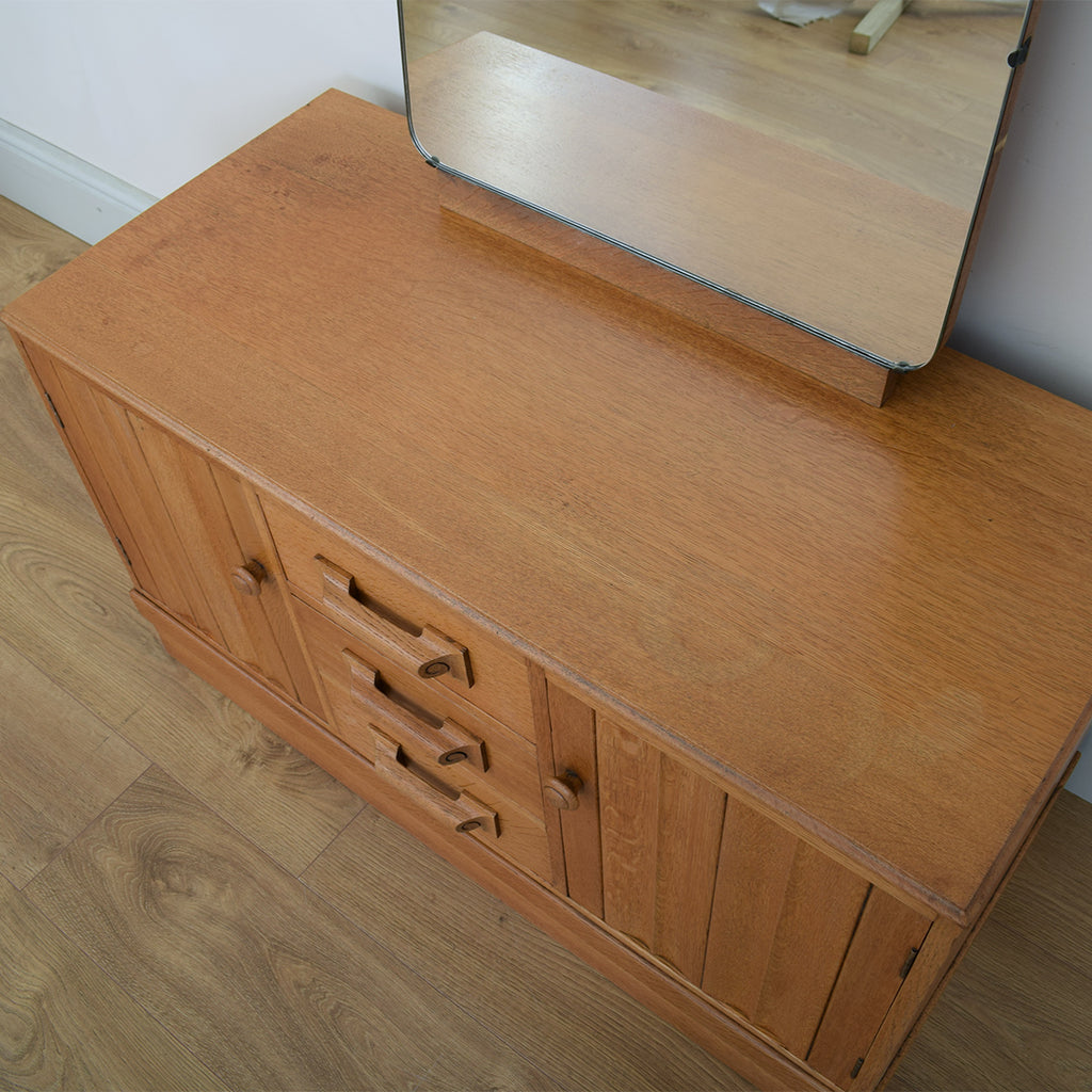 Retro Oak Dressing Table