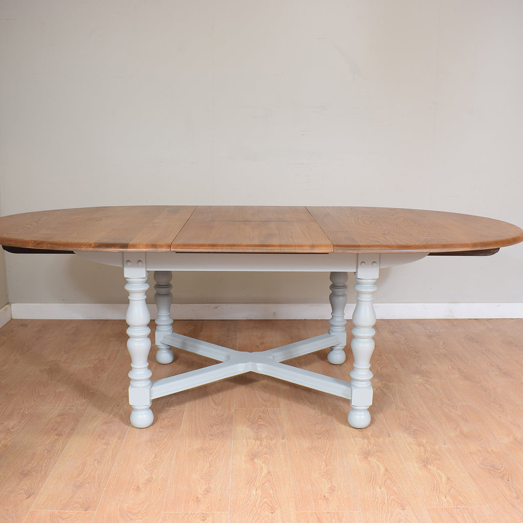 Ercol Colonial Extending Table & 4 Chairs