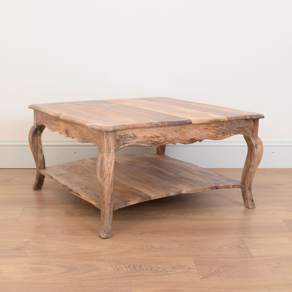 Mango Wood Coffee Table Betel Restored Furniture