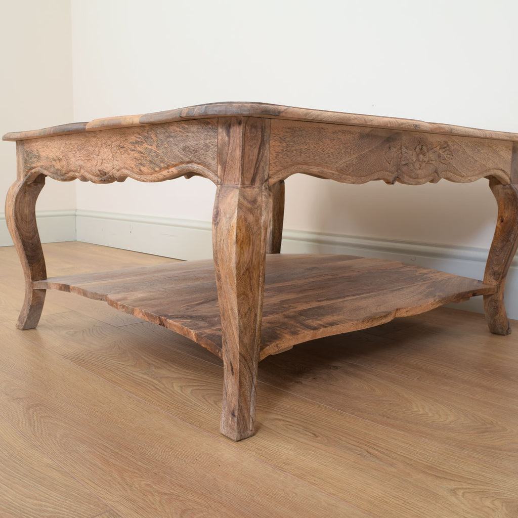 Mango Wood Coffee Table