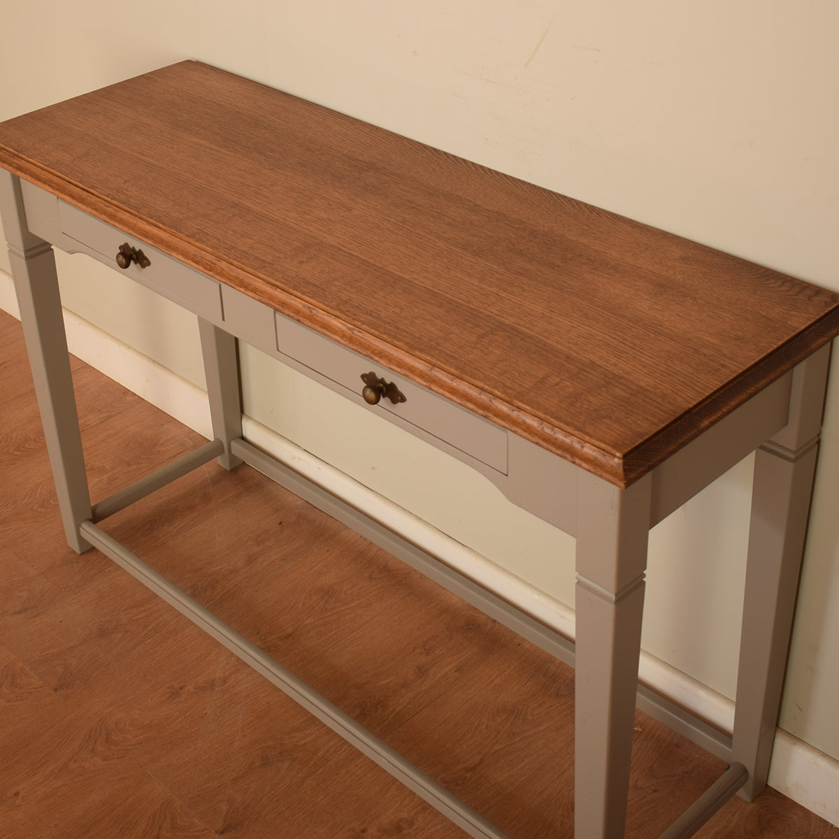 Painted Oak Console Table