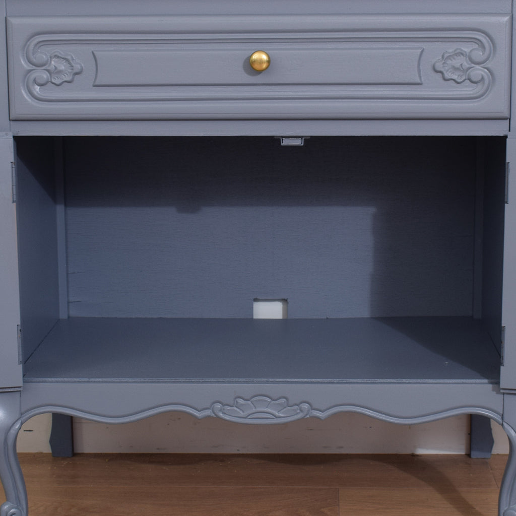 Painted French Oak Cabinet