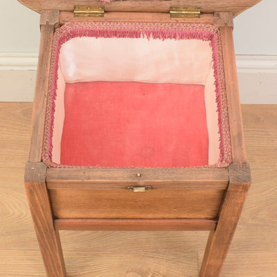 Oak Sewing Box