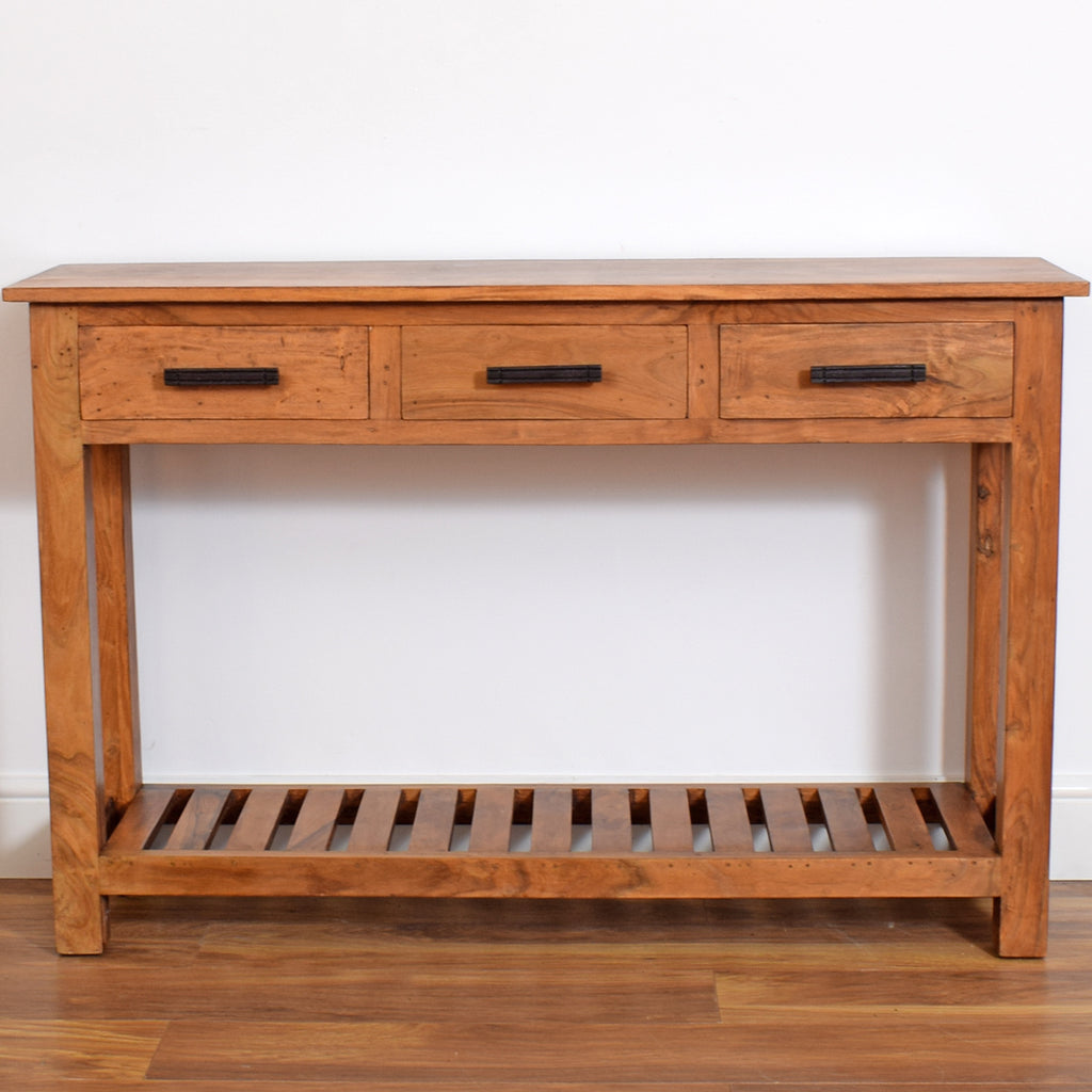 Mango Wood Console Table