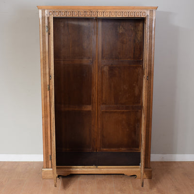 Restored Oak Wardrobe