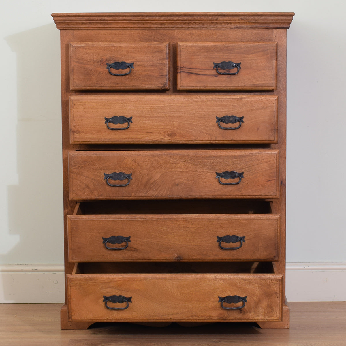Mango Wood 2/4 Chest of Drawers