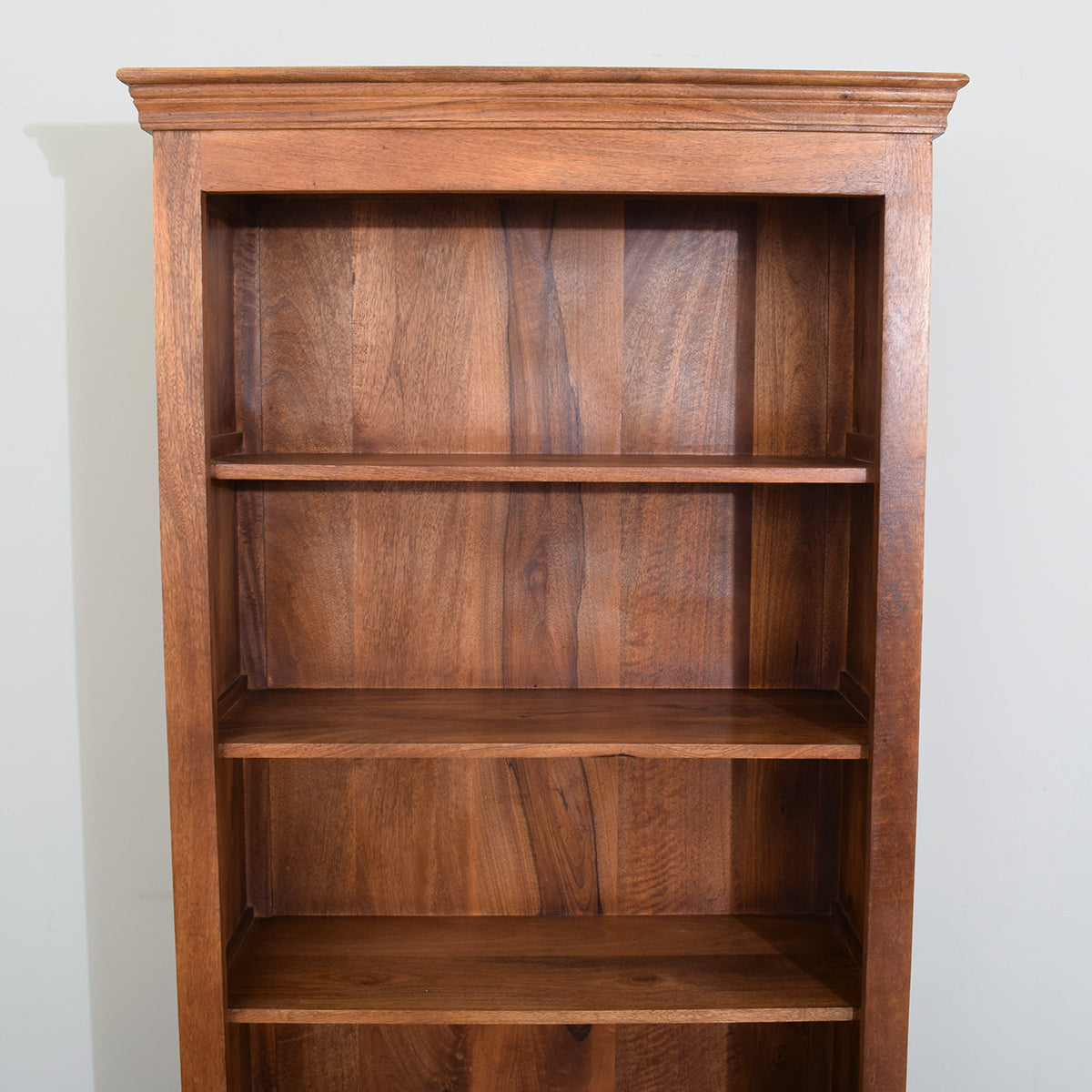 Large Mango Wood Bookcase