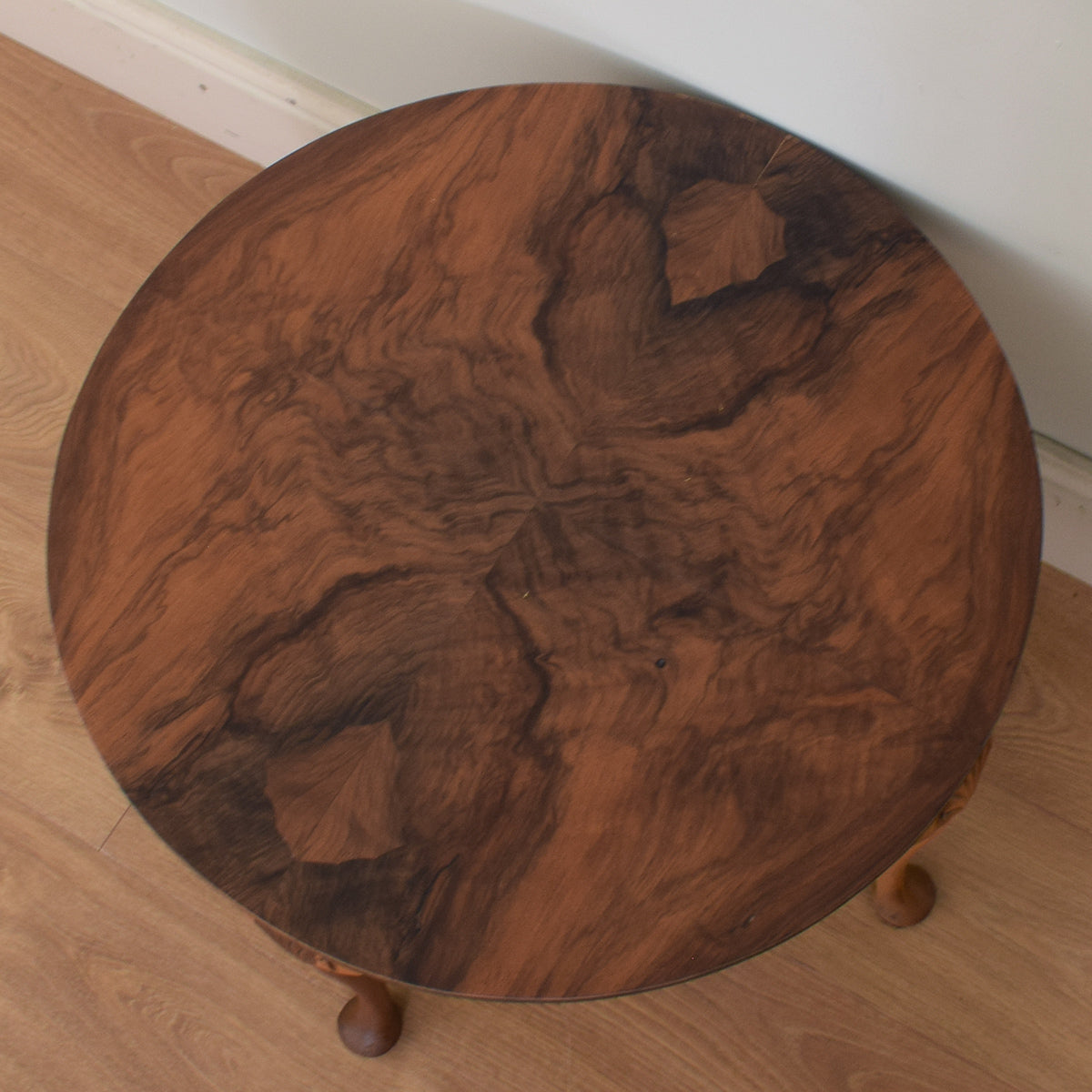 Flamed Mahogany Coffee Table