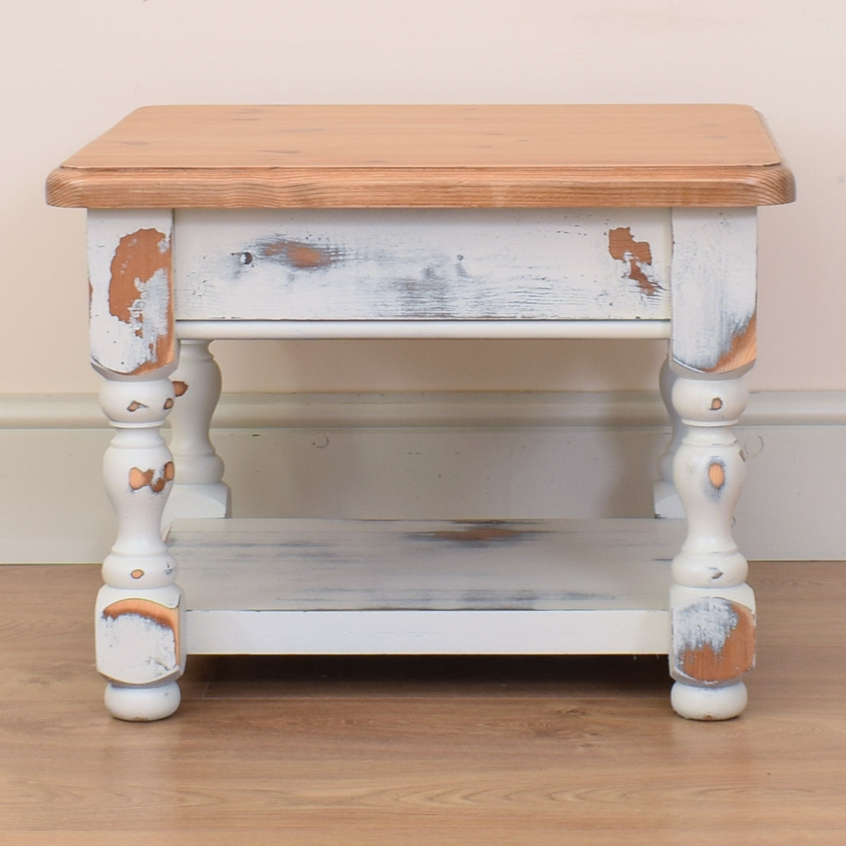 Rustic Pine Side Table / Coffee Table