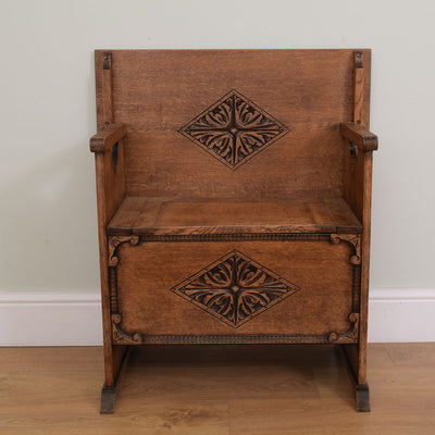 Restored Monks Bench