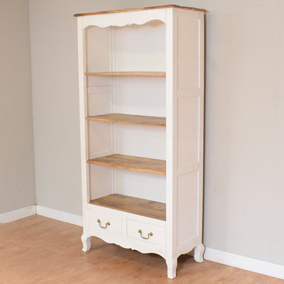 Painted French Mango Bookcase / Shelving Unit
