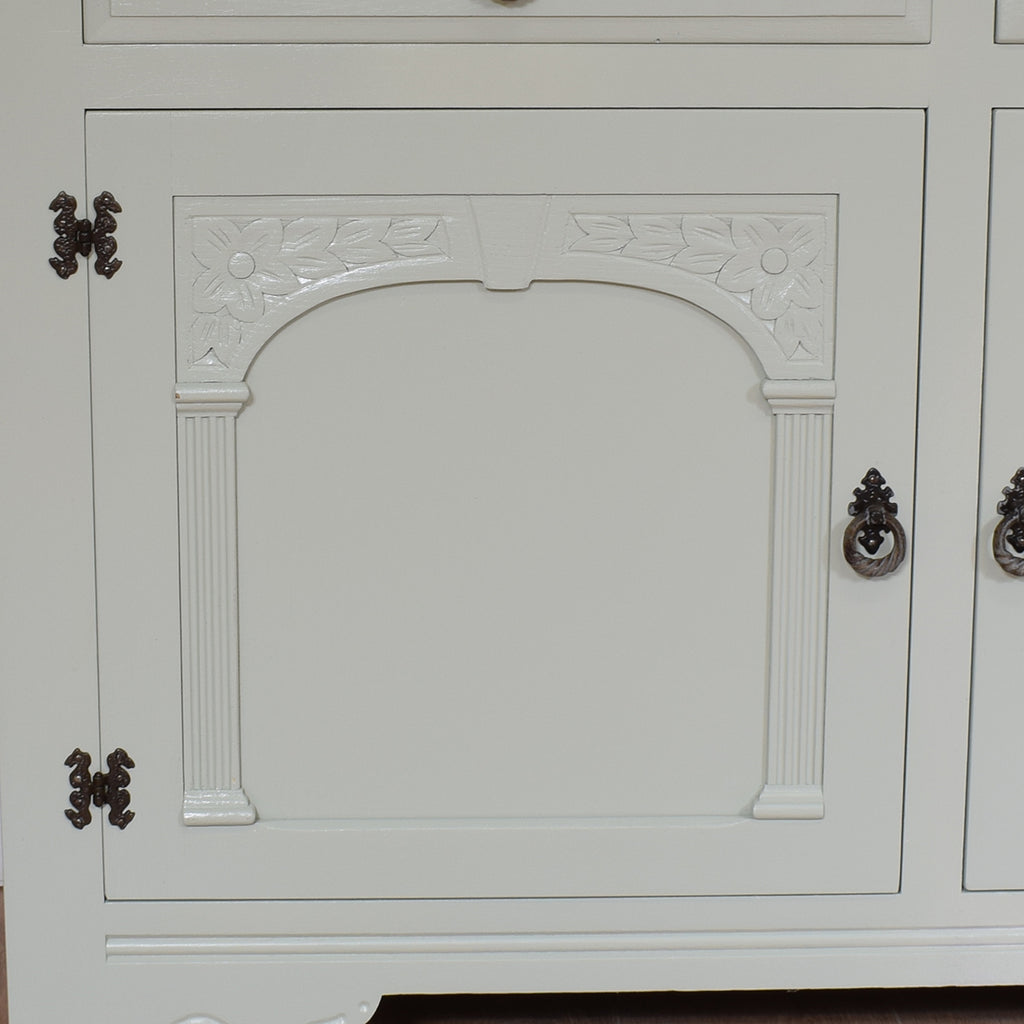 Vintage Painted Priory Style Welsh Dresser