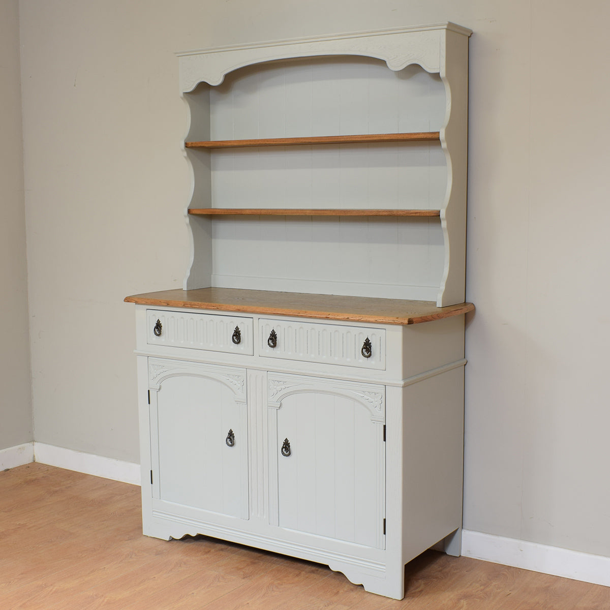 Painted Vintage Welsh Dresser