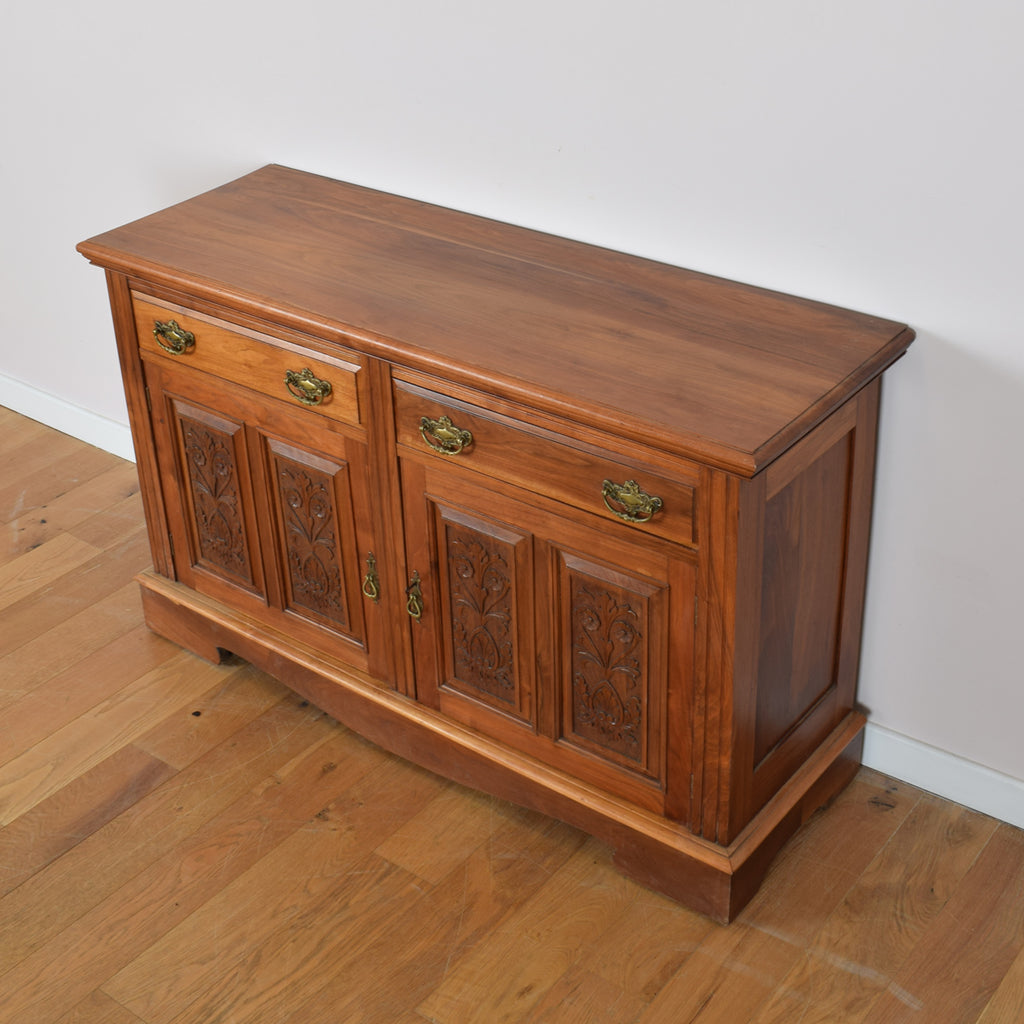 Carved Mahogany Sideboard