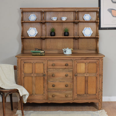Vintage Ercol Colonial Dresser