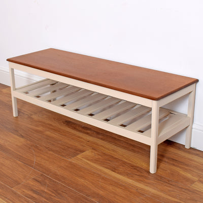 Painted Teak Coffee Table