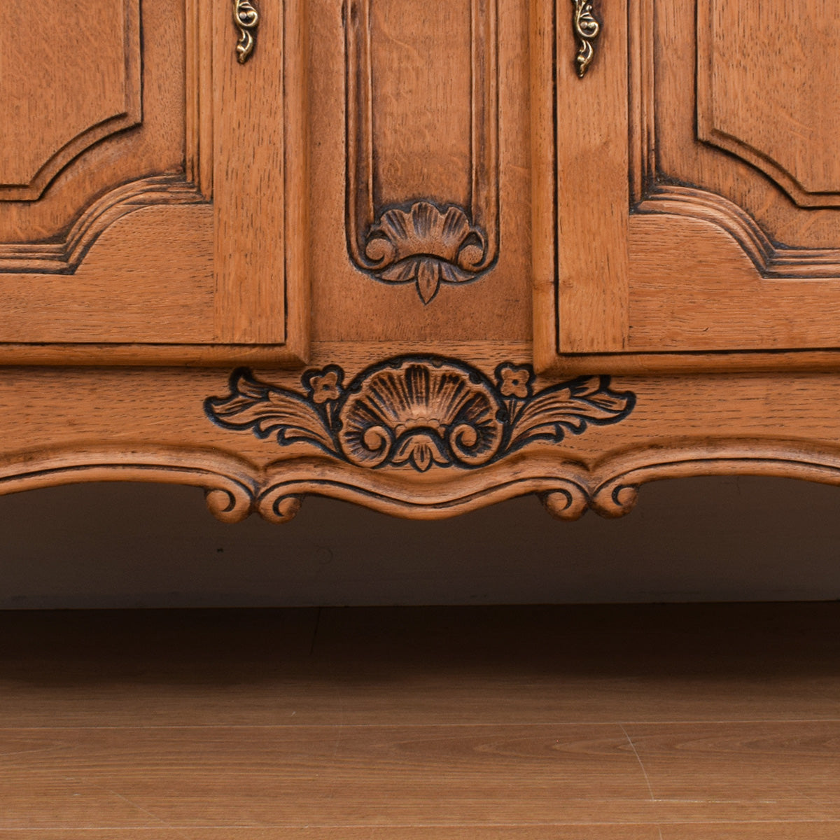 Double French Oak Cabinet