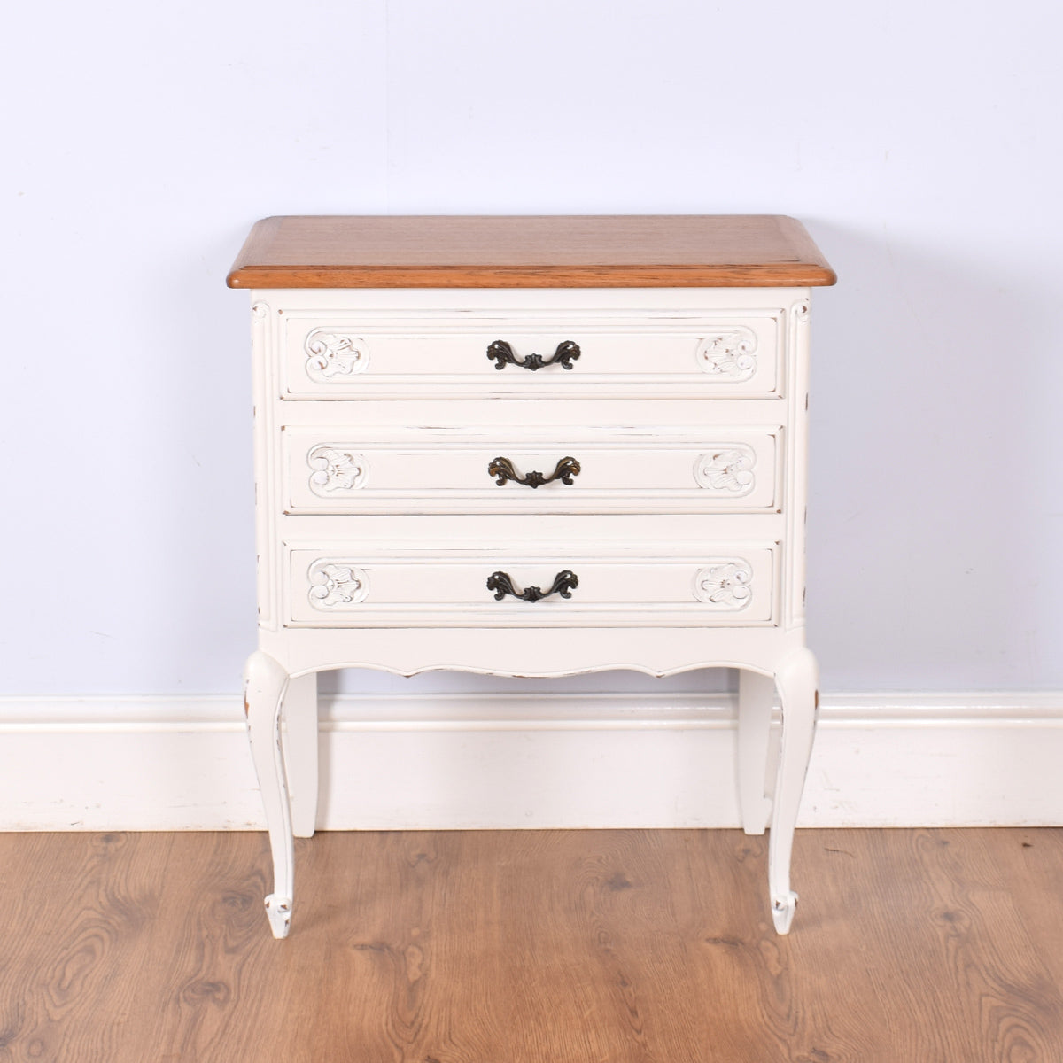 Painted Oak French Chest of Drawers