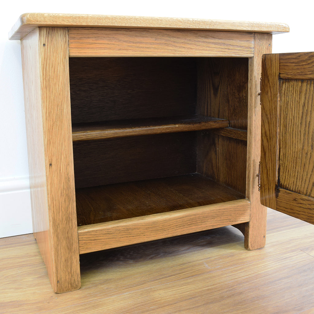 Small Dutch Oak Cupboard