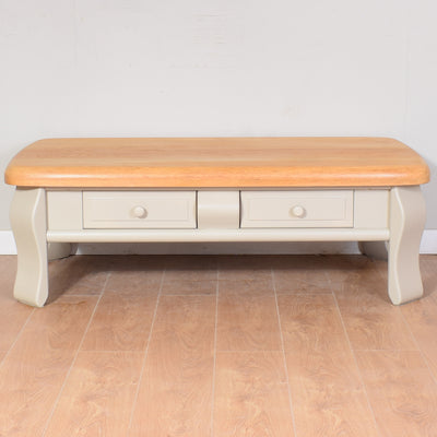 Painted Oak Coffee Table