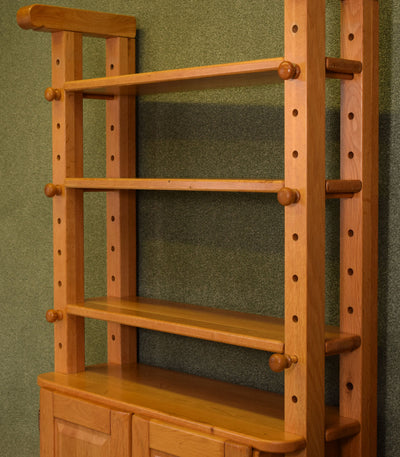 Rustic Dutch Oak Cheese Rack