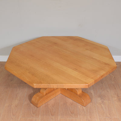 Light Oak Solid Coffee Table