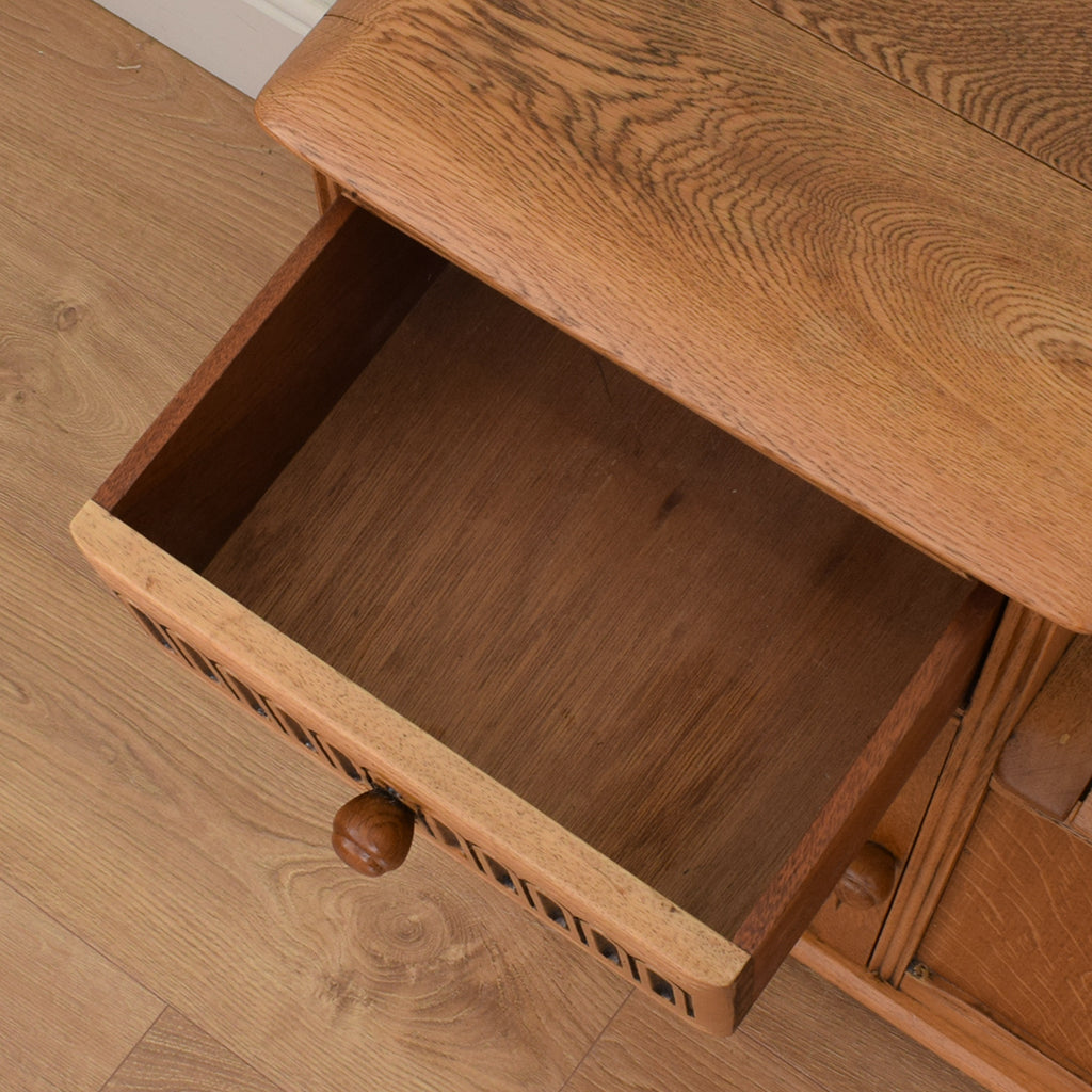 Elm Wood Telephone / Hall Seat