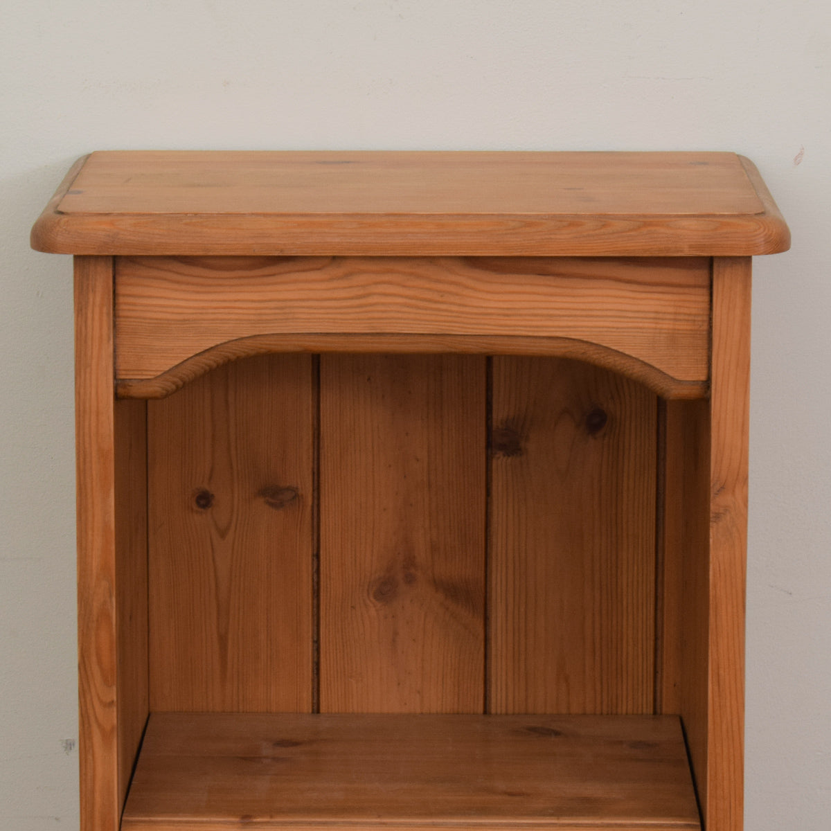 Slim Pine Bookcase