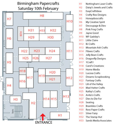 Paper Craft and Stamping Show at The National Motorcycle Museum Sat 10th Feb