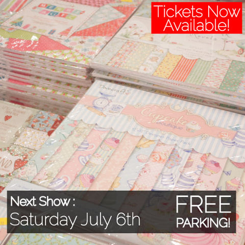 Paper Craft and Stamping Show - Saturday July 6th 2019 OLD ONE