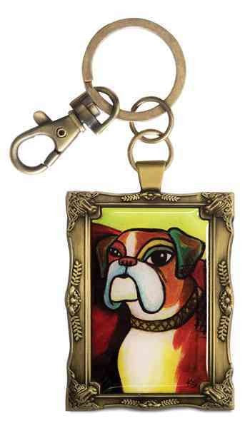 Boxer - Pawcasso - Key Chain