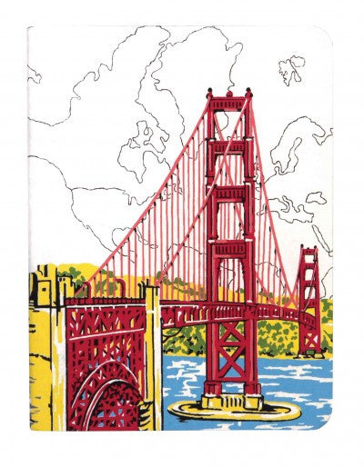 San Francisco Golden Gate Handmade Journal