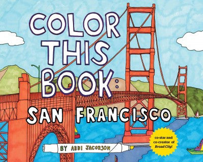 San Francisco: Color this Book