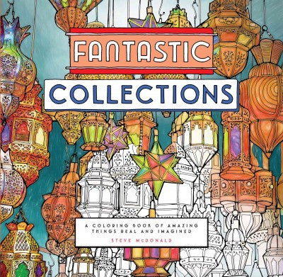 Fantastic Collections A Coloring Book Of Amazing Thin