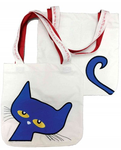 Pete the Cat Canvas Tote