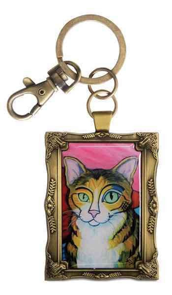 Tabby - Pawcasso - Key Chain