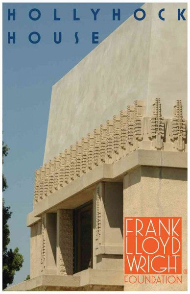 Frank Lloyd Wright Hollyhock House Magnet