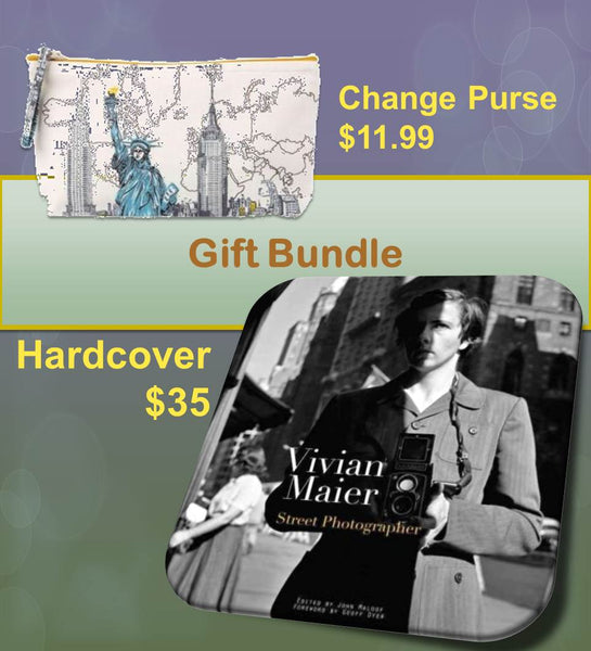 Vivian Maier: Street Photography Hardcover & Liberty Pouch