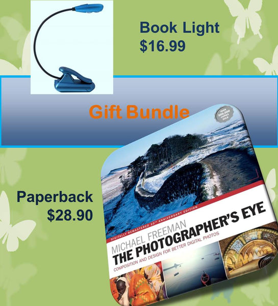 The Photographer's Eye Paperback & Book Light