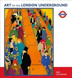 Art for the London Underground 2018 Calendar