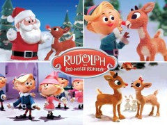 Rudolph the Red-Nose Reindeer Notecards [Christmas]