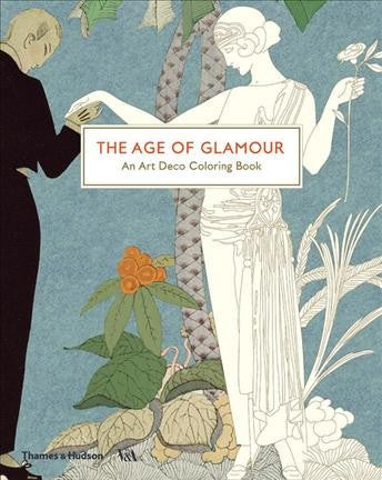 Art Deco Coloring Book: The Age of Glamour
