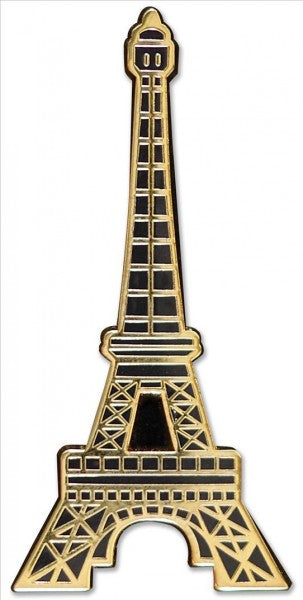 Eiffel Tower Hard Enamel Cloisonne Pin